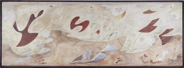 André Masson La famille en métamorphose (Décoration murale) (La familia en metamorfosis
