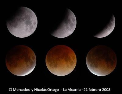 Un eclipse total de Luna será visible en España en la madrugada del jueves