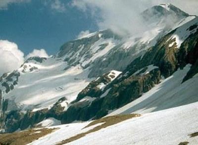 Glaciar de Monteperdido, en el Pirineo aragonés. / SINC
