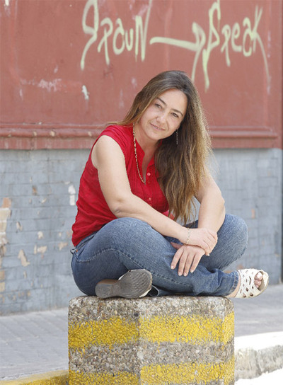 Myriam Seco se ha hecho buceadora para bajar a los pecios. / A. RUESGA