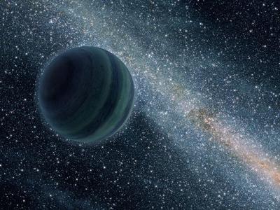 Ilustración de un cuerpo de tipo Júpiter que no está en órbita de una estrella. / NASA / JPL / CALTECH