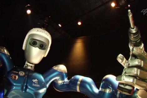 Recreación del aspecto que tendrá el robot humanoide. | Agencia Espacial Europea (ESA).