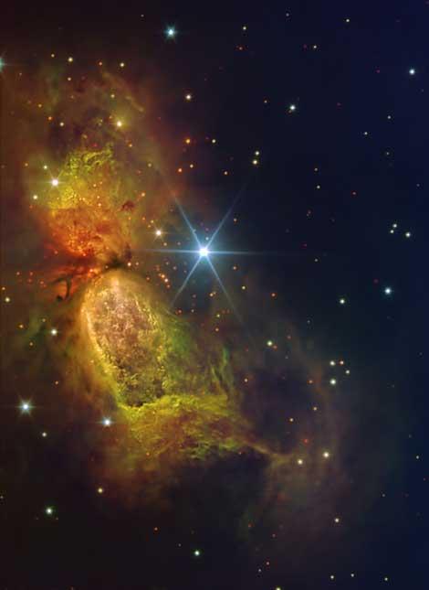 la nebulosa Sharpless 2-106. |IAC.
