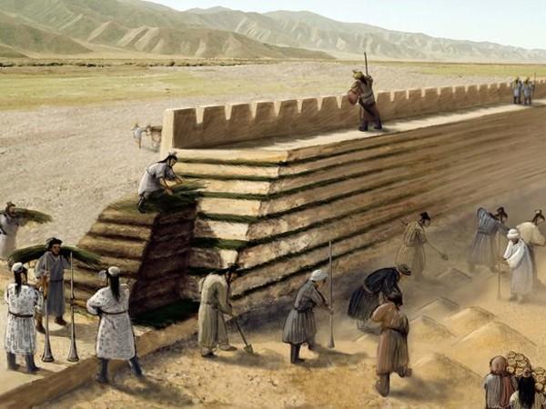 Encuentran un segmento «perdido» de la Gran Muralla China