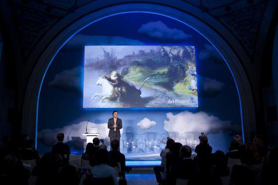 Presentación de Google Art en el Museo de Orsay / EFE