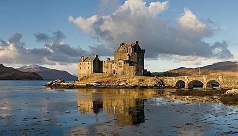 Wikipedia Castillo de Eilean Donan