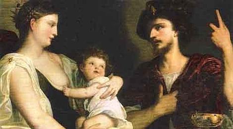 ABC Roxana con Alejandro IV, hijo del general macedonio