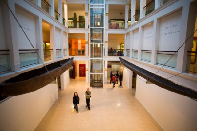 Sala principal de Museo Nacional de Antropología.