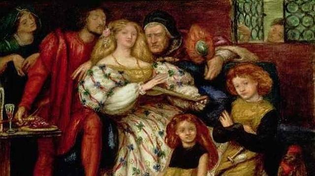 ABC | «La familia Borgia» por Dante Rossetti (1863).