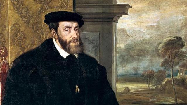 Alte Pinakothek Retrato de Carlos I de España, por Tiziano