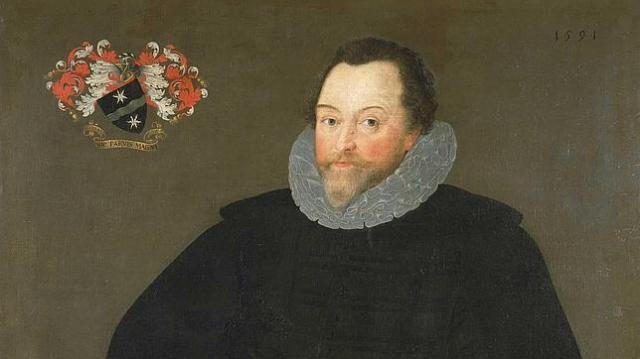 Wikipedia Retrato de Sir Francis Drake pintado por Marcus Gheeraerts el Joven