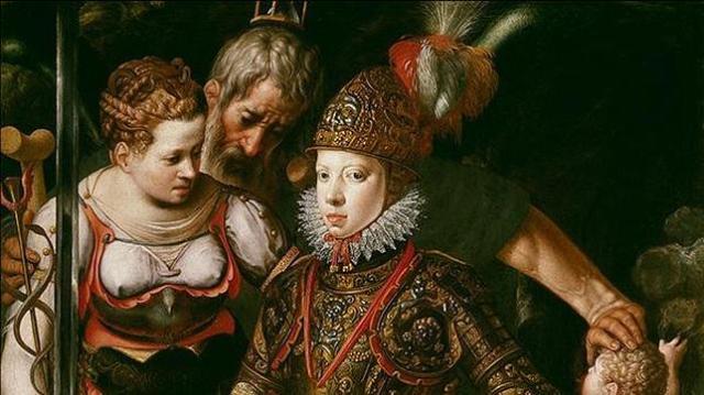 Museo del Prado Alegoría de la educación de Felipe III por Justus Tiel