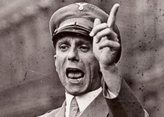 Joseph Goebbels, ministro de Propaganda de Hitler