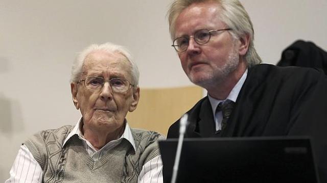 reuters |  Groening, durante el juicio