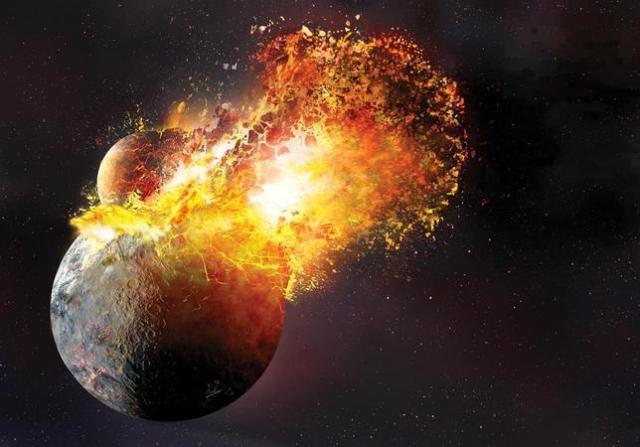 Archivo ABC | La formación de la Luna, después del impacto de la Tierra con un cuerpo planetario