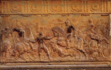 ABC Relieve dedicado a la batalla de Pavía, por Juan de Orea