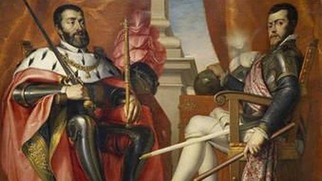 MUSEO DEL PRADO Carlos V y Felipe II, de Antonio Arias Fernández