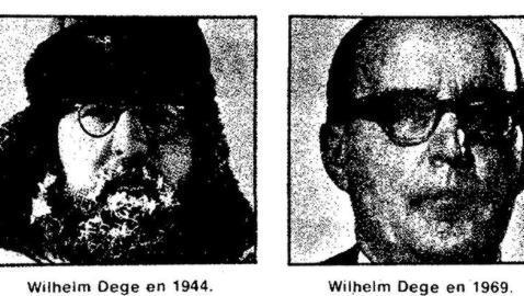 Wilhelm Dege, durante la misión y tras ella Archivo ABC