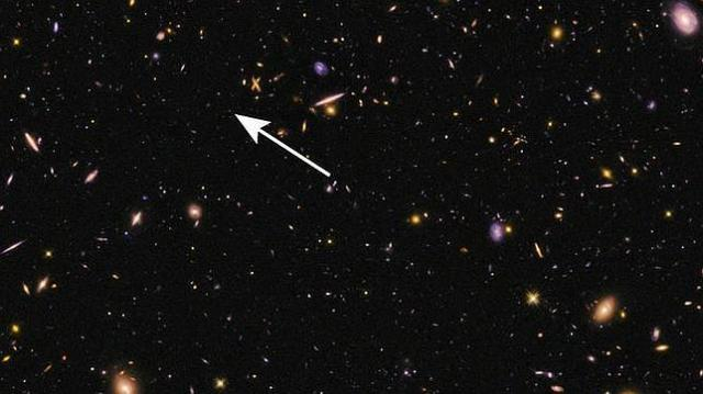 NASA, ESA, P. Oesch e I. Momcheva La galaxia EGS-zs8-1, a más de 13.000 millones de años luz de la Tierra