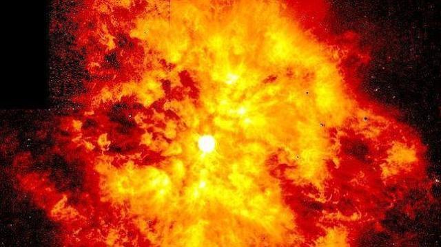 NASA Ejemplo de explosión estelar