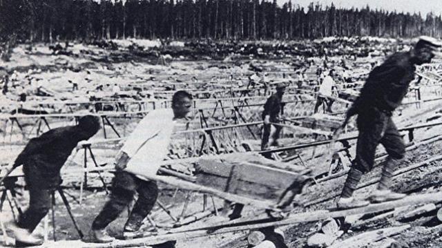abc | Imagen de un gulag soviético
