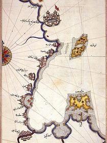 ABC | Mapa de Djerba por Piri Reis