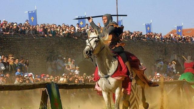 abc Las Justas medievales del Passo honroso en Hospital de Órbigo están declaradas de Interés Turístico Regional