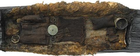 Museo Nacional de dinamarca Estado en el que apareció el ataúd