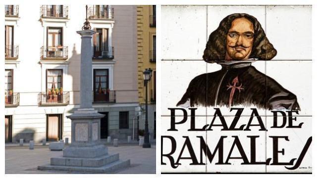 ABC Monolito en la Plaza de Ramales de Madrid