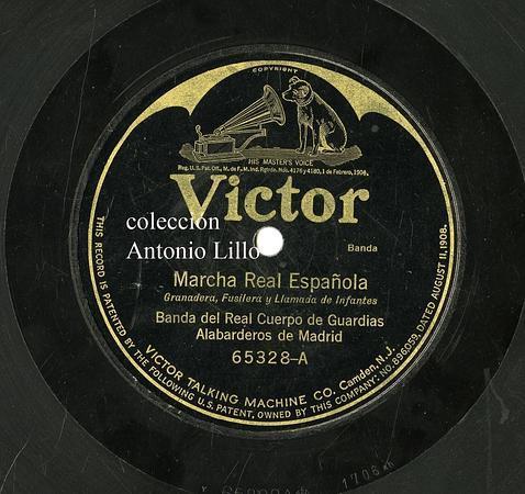 Marcha Real Granadera (Reg. Alabarderos) Antonio Lillo