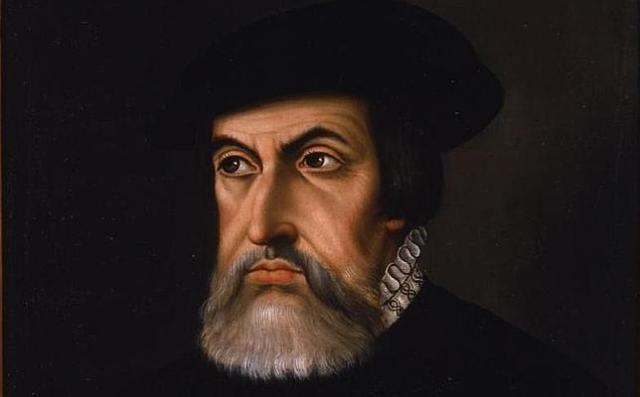 ABC Retrato de Hernán Cortés en su vejez