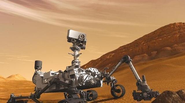 csic | Una imagen del Curiosity en Marte
