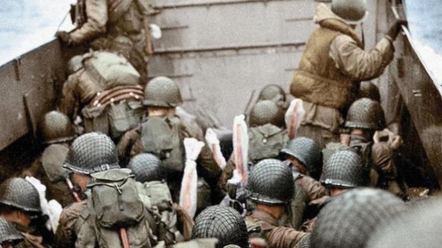 Galerie Bilderwelt Imagen de archivo del desembarco de Normandía