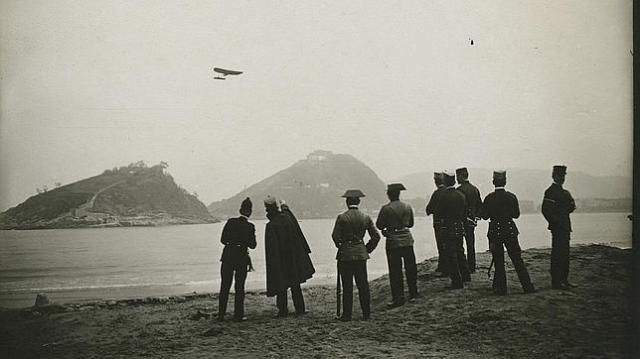 M.Brager Raid del aviador francés Védrines