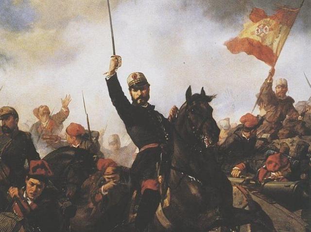 Sans Cabot El general Prim, quien convocó el concurso en 1870