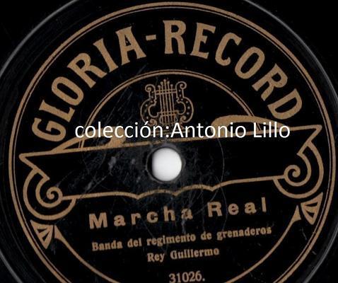 Bda Granaderos del Rey Guillermo. Marcha Real Antonio Lillo