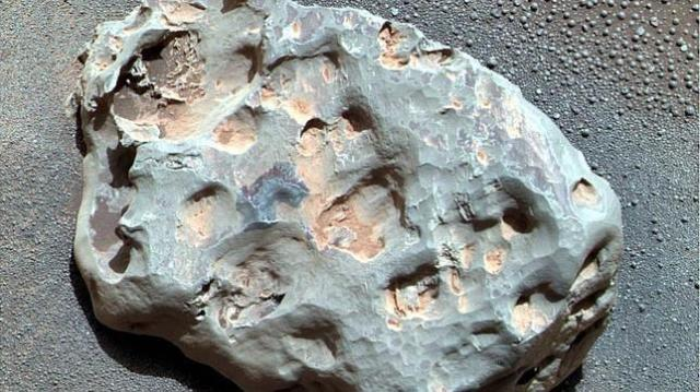 abc | Imagen de un meteorito marciano