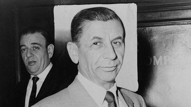 ABC | Fotografía de Meyer Lansky en 1958