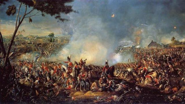 Wikimedia Batalla de Waterloo, donde los dientes valieron más que el terreno conquistado