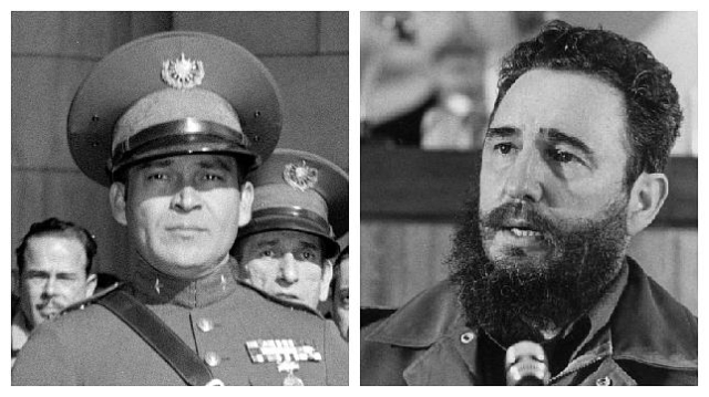 abc | Fulgencio Batista y Fidel Castro