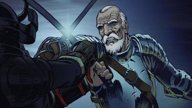 verkami Viñeta del capitán Juan Pablo de Carrión, protagonista del cómic «Espadas del fin del mundo»