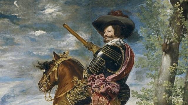 Museo del prado Retrato del Conde-Duque de Olivares, por Diego de Velázque, cuyo sobrino estuvo detrás de la conspiración de 1641