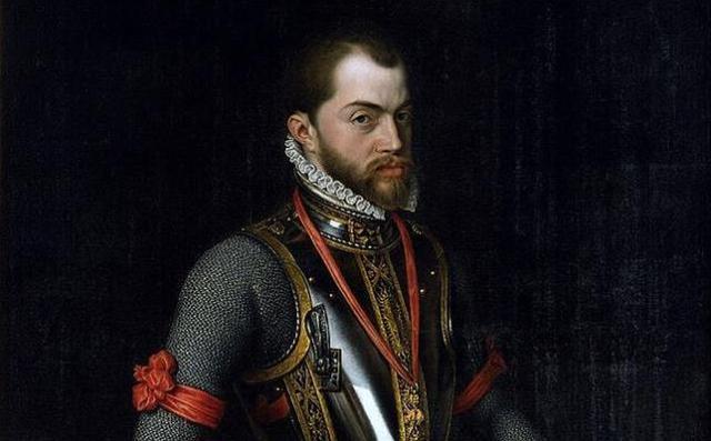 ABC Retrato de Felipe II por Alonso Sánchez Coello