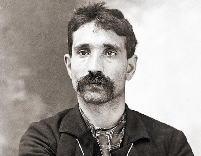 Wikipedia Fotografía de Giuseppe Morello tomada por la Policía de Nueva York en 1902
