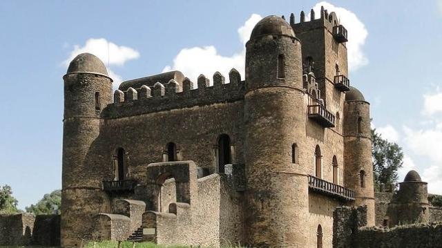 Bernard Gagnon Palacio Fasilidas, en Gondar, Etiopía