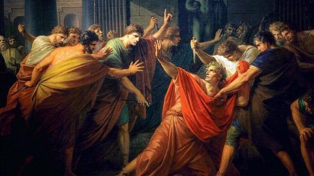 Wikipedia La muerte de Julio César de F. H. Fuger