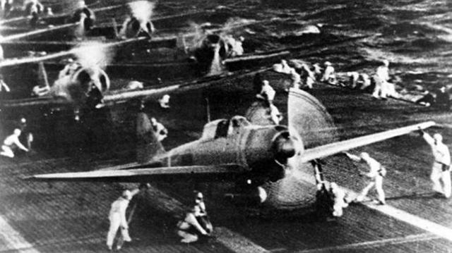 Wikimedia Varios cazas «Zero» fabricados por Mitsubishi
