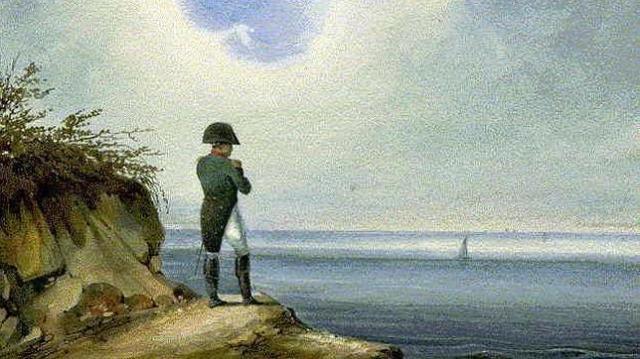 ABC Napoleón en Santa Elena, por Francois-Joseph Sandmann