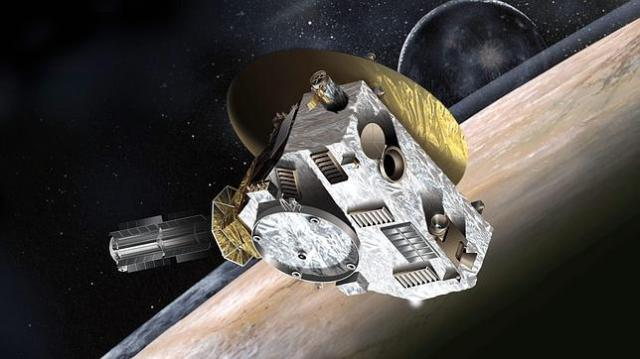 nasa Recreación de la sonda News Horizon en su camino a Marte