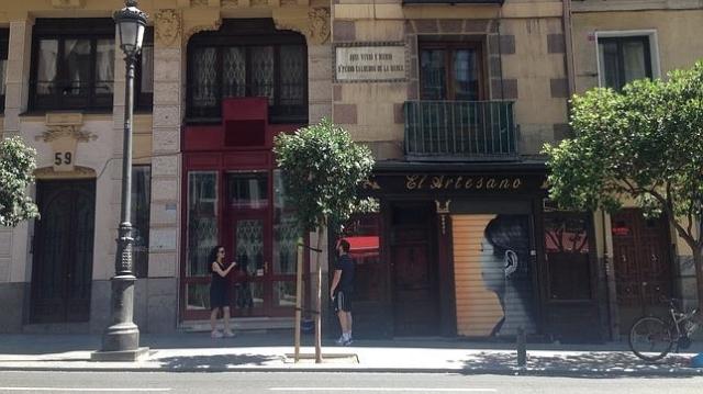 abc El número 61 de la Calle Mayor, lugar en el que vivió Calderón de la Barca